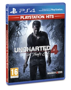 PS4: Hits Uncharted 4 Thiefs' End
