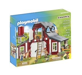 Playmobil 9315 lade med silo