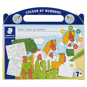 Staedtler color by numbers hest