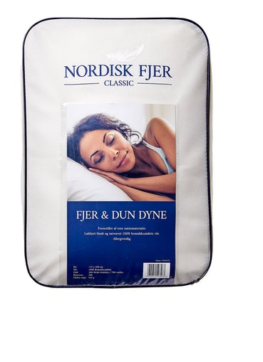 Nordisk fjer classic 30% and 135x220 cm