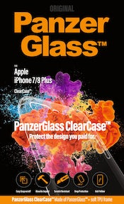 PanzerGlass til iPhone 7/8+ ClearCase