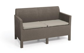Orlando 2 pers. loungesofa - Cappuccino