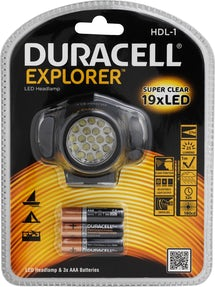 Duracell hovedlygte HDL-1