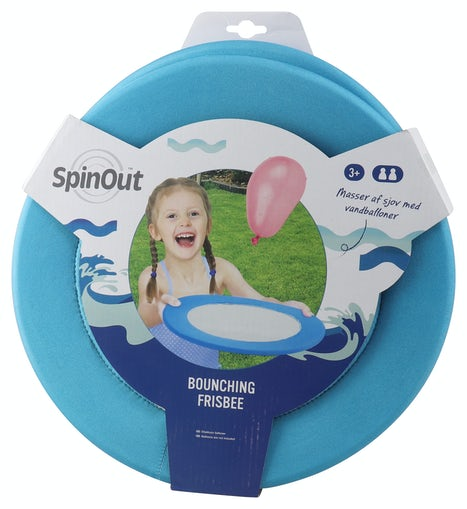 Spinout Bounching Frisbee