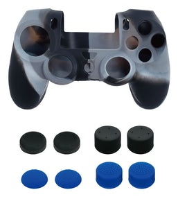 Piranha PS4 2xSkin 8xGrips