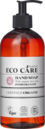 Eco care håndsæbe pommegranate