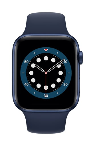 Apple Watch S6 GPS 40mm Blue Alu Case Regular – navy sportsrem