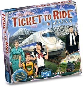 Ticket to Ride 7 Japan-Italy