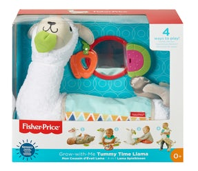 Fisher-Price® Grow-with-Me Tummy Time Llama