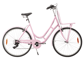 """PUCH New Style 28"""" dame 7 udvendige gear 2021 - pink"""