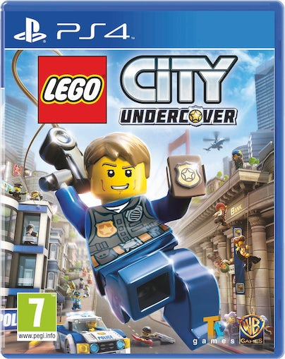 PS4. LEGO CITY Undercover