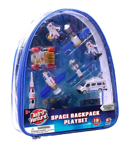 Astro Diecast Space Backpack Playset