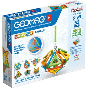 Geomag Supercolor Panels Recycled 52