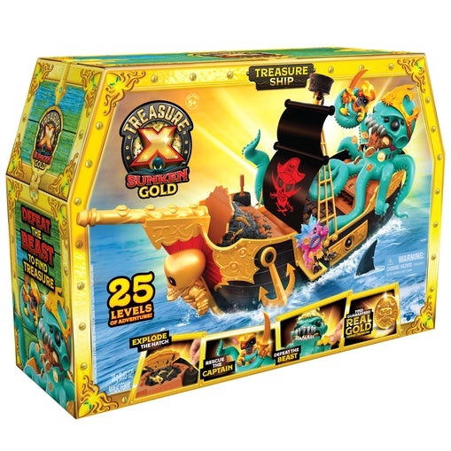 Treasure X S5 Sunken Gold Shipwreck