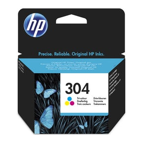 Hp 304 Tri-Color Ink Cartridge Blister
