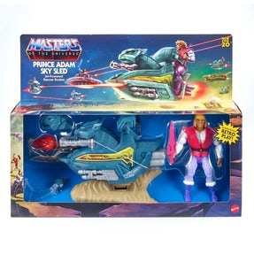 Masters of the Universe Origins Prince Adam med Sky Sled
