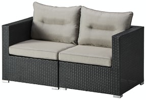 Berga 2 pers. sofa - sort
