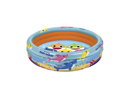 Baby Shark 3-ring Pool