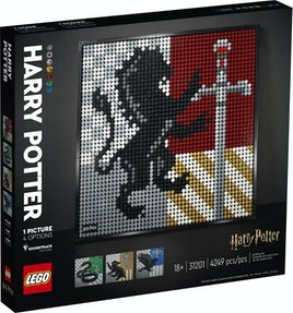 LEGO Art Harry Potter™ Hogwarts™-våbenskjolde 31201