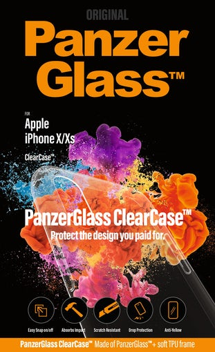 PanzerGlass til iPhone X/XS ClearCase
