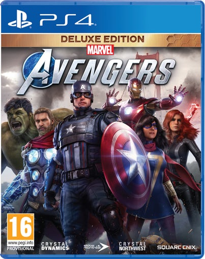PS4: Marvel's Avengers Deluxe Edition