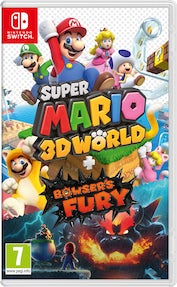 Switch: Super Mario 3D World + Bowser's Fury