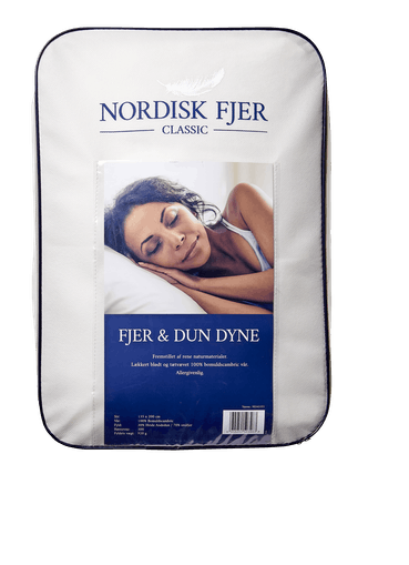 Nordisk fjer classic 30% and 135x200 cm