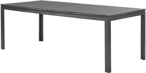 Lakewood havebord 229/287 cm firkantet - sort