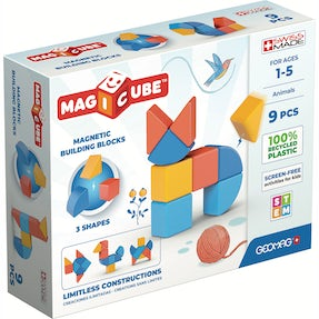 Geomag Magicube 3 Shapes Recycled Dyr 9