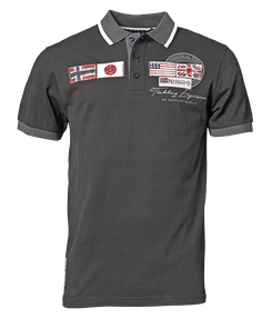 Geographical Norway polo str. XL - sort