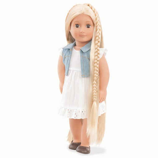Our Generation Hair Grow Doll - Blonde Phoebe